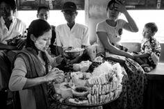 Myanmar People on the Yangon Circular Train, A Small Homage. #ipaphotoasia
