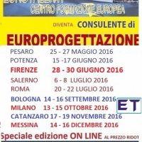 Come utilizzare i Fondi Europei a favore dei Professionisti, delle Imprese e degli Enti Locali. CORSO ON LINE www.eurotalenti.it in CORSI on Orobica Annunci