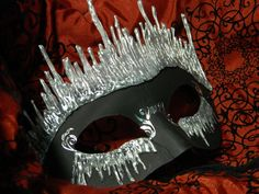 Black Ice Mask by PrettyAlkemy.deviantart.com on @deviantART