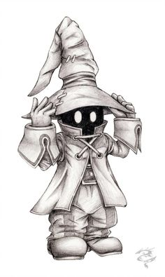 Easy Draw : Vivi by visuallyours on DeviantArt - Art & Drawing Community : Explore & Discover the best and the most inspiring Art & Drawings ideas & trends from all around the world Creepy Drawings, Dark Art Drawings, Creepy Art, Pencil Art Drawings, Art Drawings Sketches, Cartoon Drawings, Cartoon Art, Cool Drawings, Tattoo Design Drawings