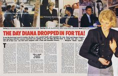 On October 25th in 1988, Princess Diana made a special secret visit in her role as patron of the Barnardo's Charity.