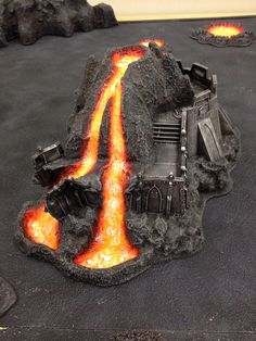 lava terrain wargaming - Google Search