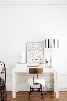 comfy desk chair idea