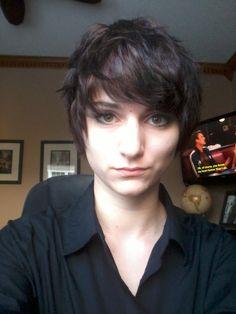 genderfluid haircuts - Google Search