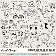 Sweet Shoppe Designs::Shop by DESIGNER::Sugary Fancy::Turn it Around Bundle by Brook Magee & Sugary Fancy