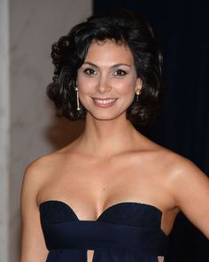 Morena Baccarin at 2013 White House Correspondents' Association Dinner in Washington, April 2013.