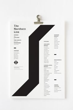The Northern Line - Design