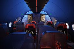 Nike Concept Plane Cabin For Pro Athletes 1