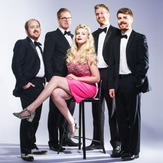 Megan And The Bourbon Boys Vintage Style Rock & Pop Covers  Vintage style covers of modern rock & pop songs performed by Alive Network's exclusive swing jazz quintet! Megan and the Bourbon Boys give a retro spin to their repertoire which includes hits from Meghan Trainor, Oasis, Sam Smith, Taylor Swift and much more…