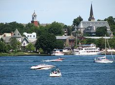 Gananoque-View-from-St-Lawrence-River