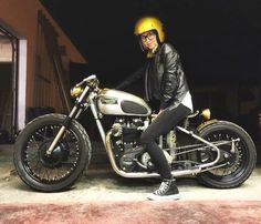 #GirlPower #America #Tats #Inked #Bikeuse #Rebel #Rideuse... #overbold #caferacer #motorcycle #bratstyle #bobber #custom #bcn #bikes #motorbike #bespoke #handmade #caferacer #overboldmotorco #tracker #streettracker #flattracker #honda #yamaha #suzuki #ossa #triumph #bmw #guzzi #motoporn #lifestyle #cafexxx #dirttrack #flattracker