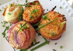 Bacon Sweet Potato Muffins - great for the #21dsd with athlete modificaitons