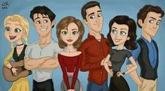 Friends Cartoon
