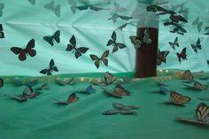 Green 2017 Butterflies Display