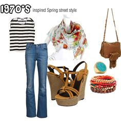 1970's inspired Spring street style 2012