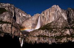Moonbow season is about to start at Yosemite National Park.