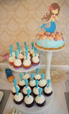 """Photo 3 of 47: Mermaid and Pirate / Birthday """"Mermaid and Pirate Under the Sea Party"""" 