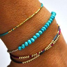 Turquoise Tennis bracelet | Vivien Frank Designs