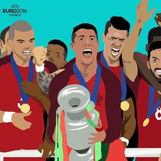 24 teams, 51 games, 108 goals. One new champion! #EURO2016