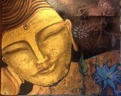 Bouddha. Acrylique bob