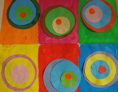 Fond à la peinture et ronds collés du plus petit au plus grand Peter Reynolds, Maternelle Grande Section, Sonia Delaunay, Dot Day, Art Plastique, Art School, Collage, Classroom, Crafts