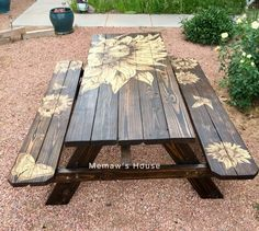 How to Stain a Lowe's Picnic Table Makeover, Memaw's Way DIY - Diy Table Models 2019 Diy Teepee, Diy Vanity, Little Tikes Picnic Table, Painted Picnic Tables, Cute Diy, Diy Table, Diy Picnic Table, Round Picnic Table, Backyard Picnic