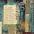 An art journal page by Michelle Ward