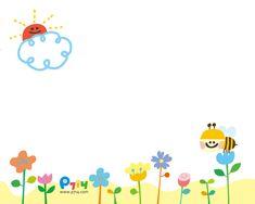 예쁜 테두리 Flower Wallpaper, Pattern Wallpaper, Iphone Wallpaper, Monster Theme Classroom, Classroom Themes, Easy Crafts For Kids, Diy And Crafts, School Days Images, Powerpoint Background Templates