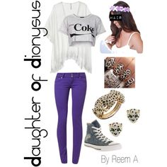 Daughter Of Dionysus Casual Outfit, Cabin 12, Percy Jackson Inspired Outfit