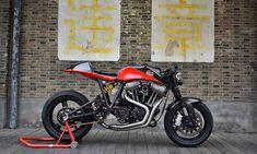 Return of the Cafe Racers - V-twin test bed – Danmoto Harley Sportster