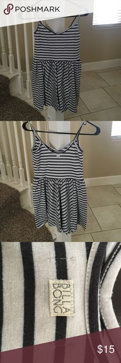Billabong striped dress Striped dress. Size small. Stretchy. Can fit xs-small. Billabong Dresses