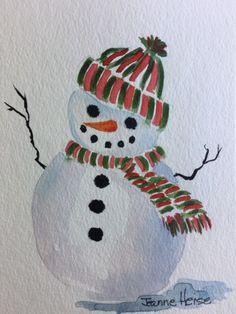 "Watercolor Christmas Cards Made Easy"" Christmas Cards Drawing, Painted Christmas Cards, Simple Christmas Cards, Christmas Card Crafts, Homemade Christmas Cards, Xmas Cards, Christmas Tree Drawing Easy, Minimal Christmas, Natural Christmas"