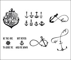 Sail and Anchor Ideas Tall Ships | Tattify