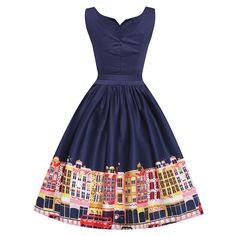 Little Wings Factory - Lindy Bop 'Delta' Navy Carnaby Street Border Swing Dress, €42.02 (http://www.littlewingsfactory.com/lindy-bop-delta-navy-carnaby-street-border-swing-dress/)