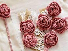8 Crochet Patterns for Roses Crochet Curtain Pattern, Free Crochet Doily Patterns, Crochet Symbols, Crochet Cardigan Pattern, Crochet Motif, Crochet Designs, Crochet Doilies, Crochet Flowers, Curtain Patterns