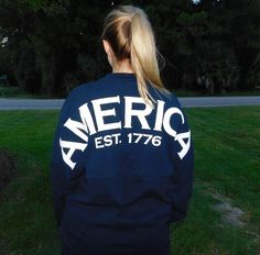We've Got American Spirit, Yes We Do. We've Got Spirit Jerseys- How about YOU?