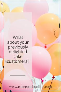 If you are running a cake decorating business or a home bakery - what are the best sort of cake customers to get? The ones that are totally delighted with your service. But yet -for a lot of cake decorating businesses - these customers are rarely marketed to ever again, nor kept in touch with. Read our blog to find out more. ...