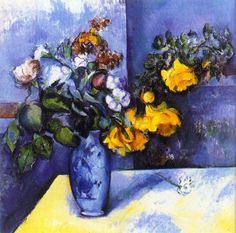 Paul Cézanne - Flowers in a Vase