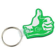 These novelty shape key tags support your cause!