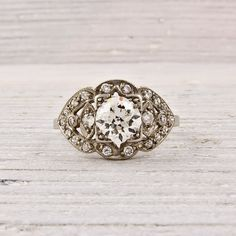 My husband better get me a vintage wedding ring. Or I'm not marrying him