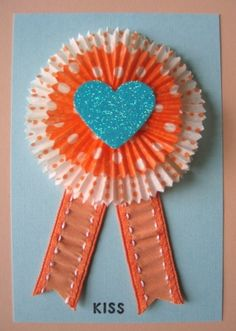 Cupcake liner Ribbons-Best Dad? For Mothers/Fathers Day