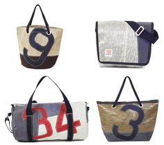 north37 design's 727sailbags: beach bag, messenger, overnight and duffle