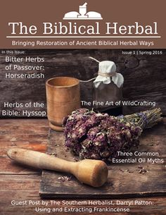 Biblical Herbal Spring Issue cover