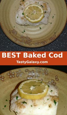 Cod Loin Recipes, Cod Fish Recipes, Baked Cod Recipes, Dishes Recipes, Food Dishes, Cooking Recipes, Low Carb Side Dishes, Main Dishes, Oven Baked Cod