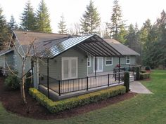 Glass And Aluminum Patio Cover