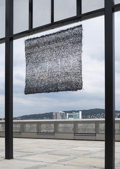 Pierret Bloch Maille de crin, 1983-1984 Museum für Gestaltung Zürich, Applied Art Collection Photo: FX.Jaggy & U.Romito, Museum für Gestaltung, © ZHdK