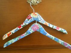Decoupaged hanger