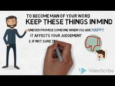Become A Man Of Your Word | The Alpha Motivation - YouTube