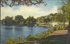 Point on the Mississippi River Between Hamilton and Nauvoo :: Postcards - Illinois