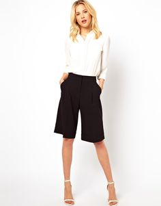 Long shorts for Fall and Fall transition. From ASOS.